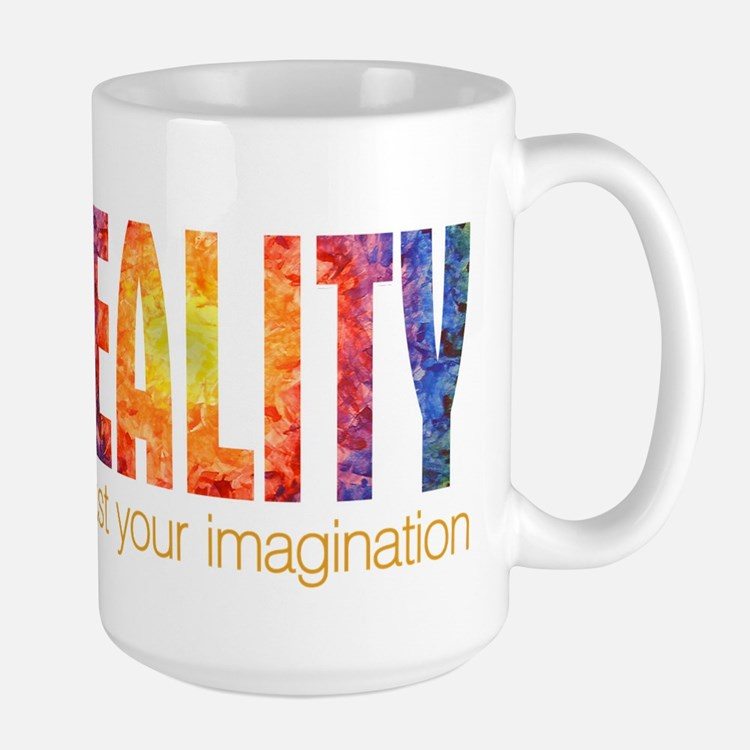 Reality Imagination Large Mug