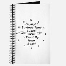 Daylight Savings Time Sucks! Journal