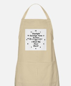 Daylight Savings Time Sucks! BBQ Apron