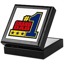 #1 Grand Dad Keepsake Box
