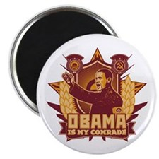 """Barack Is My Comrade! 2.25"""" Magnet (100 pack)"""