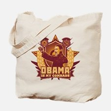 Barack Is My Comrade! Tote Bag