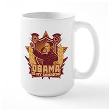 Barack Is My Comrade! Mug