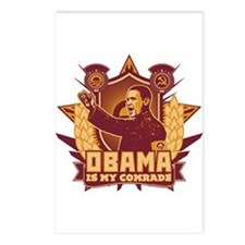 Barack Is My Comrade! Postcards (Package of 8)