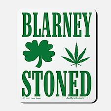Blarney Stoned Mousepad
