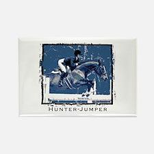 Hunter Jumper Horse Rectangle Magnet