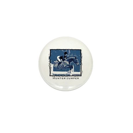 Hunter Jumper Horse Mini Button (100 pack)