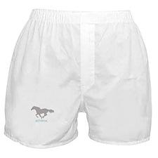 Equestrian Athlete Boxer Shorts