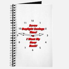 Screw Daylight Savings Time! Journal