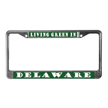 Eco Green Delaware License Plate Frame