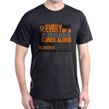 HERO Comes Along 1 Father-In-Law LEUKEMIA T-Shirt