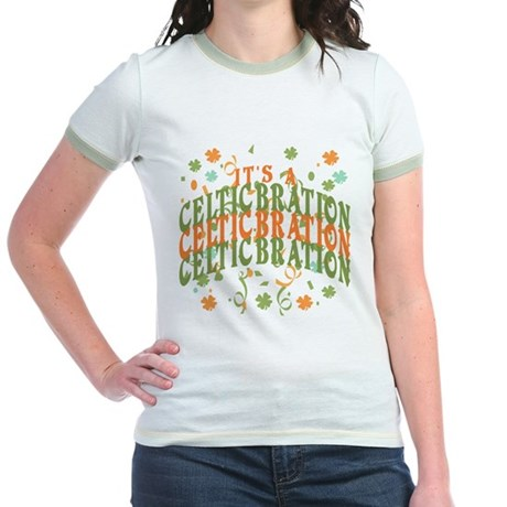 ITS A CELTICBRATON Jr. Ringer T-Shirt