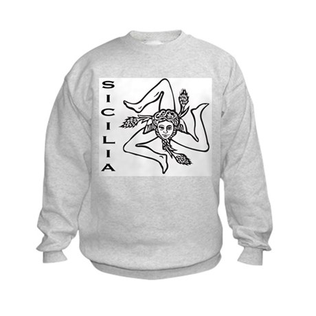 Sicilian Pride Kids Sweatshirt