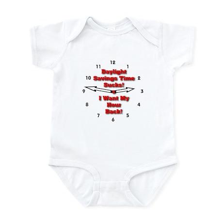 Daylight Savings Time Sucks! Infant Bodysuit