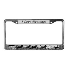 Funny Eventing License Plate Frame