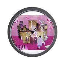 Chateau Rose Wall Clock