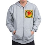 Wreath Gamecock Zip Hoodie