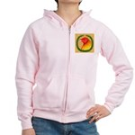 Wreath Gamecock Women's Zip Hoodie