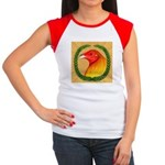 Wreath Gamecock Women's Cap Sleeve T-Shirt