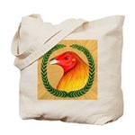 Wreath Gamecock Tote Bag