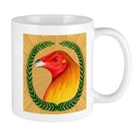 Wreath Gamecock Mug