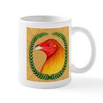 Wreath Gamecock Mug