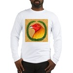 Wreath Gamecock Long Sleeve T-Shirt