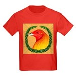 Wreath Gamecock Kids Dark T-Shirt