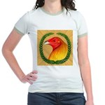 Wreath Gamecock Jr. Ringer T-Shirt