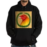 Wreath Gamecock Hoodie (dark)
