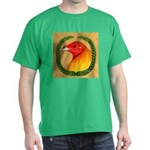 Wreath Gamecock Dark T-Shirt