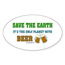 Save The Beer Decal