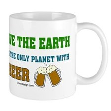 Save The Beer Small Mug