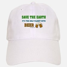 Save The Beer Baseball Baseball Cap