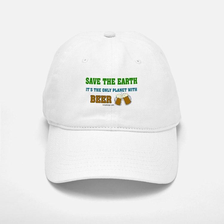 Save The Beer Baseball Baseball Cap