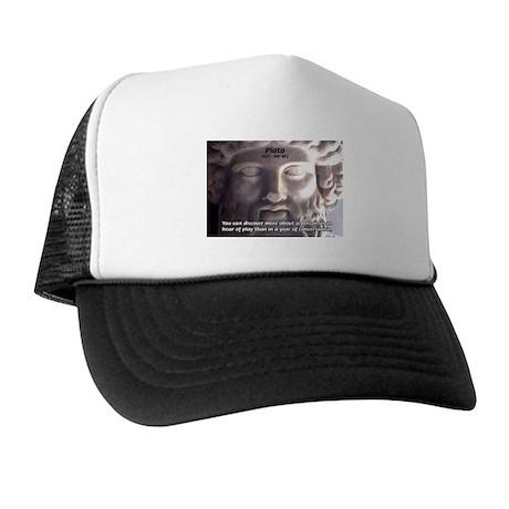 Plato: Wisdom Knowledge Play Trucker Hat