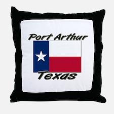 Port Arthur Texas Throw Pillow