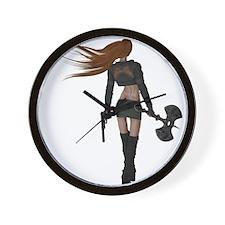 Sexy Assassin Wall Clock