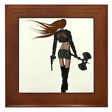 Sexy Assassin Framed Tile