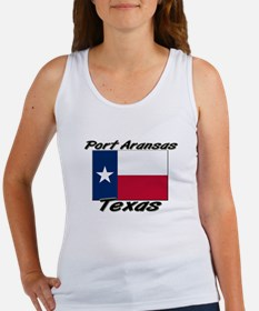 Port Aransas Texas Women's Tank Top