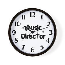 Music Director Wall Clock
