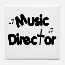 Music Director Tile Coaster