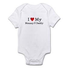 I LOVE MY T SHIRTS: Infant Bodysuit