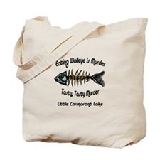 Eating Walleye is Murder Tote Bag