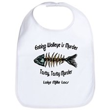 Eating Walleye is Murder Bib