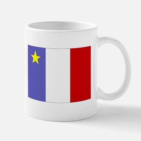Acadian Flag Mug