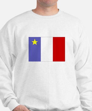 Acadian Flag (2-sided) Sweater