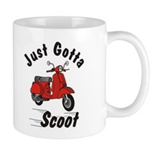 Just Gotta Scoot Classic Small Mug