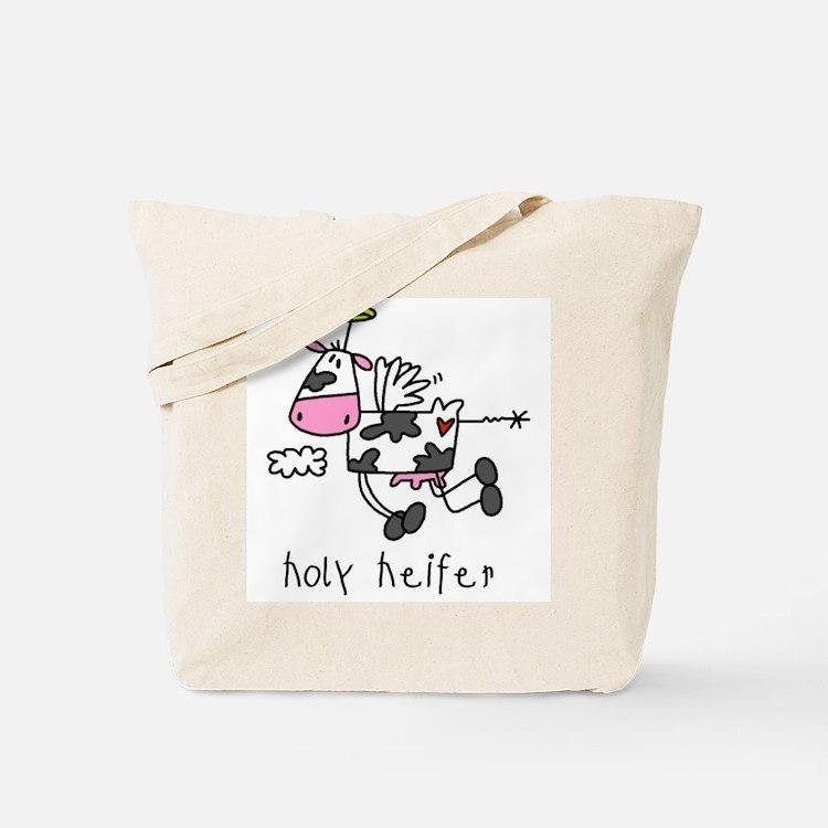 Holy Heifer Tote Bag