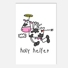 Holy Heifer Postcards (Package of 8)